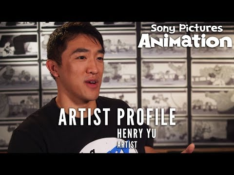 Inside Sony Pictures Animation - Artist Henry Yu