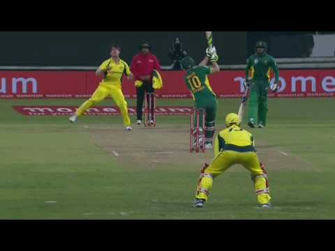 South Africa vs Australia - 3rd ODI - Highlights - David Miller