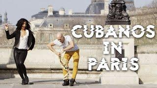 CUBANS DANCING SALSA, RUMBA & REGGAETON IN ROMANTIC PARIS (DANCERS FROM