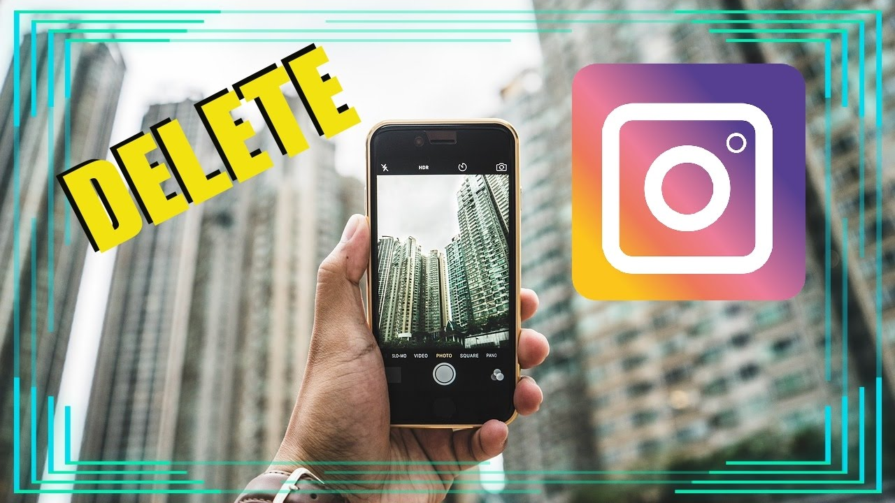 How To Delete Instagram Account On Phone Permanently 2017