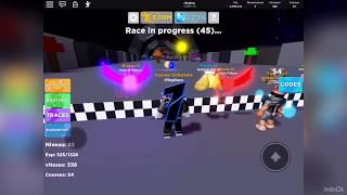 Roblox : Legends of Speed : je vous montre l'espace !