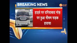 Barabanki : Four people died in Major road accident