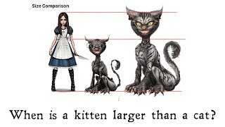 Inspiration for a Big Cheshire Kitten