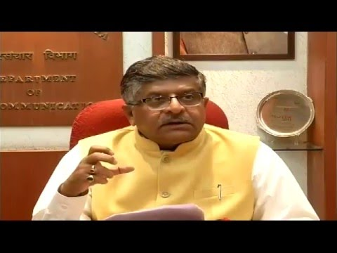 Union Minister Shri RS Prasad on issue related to Telecom, Information Technology & Post in Budget.