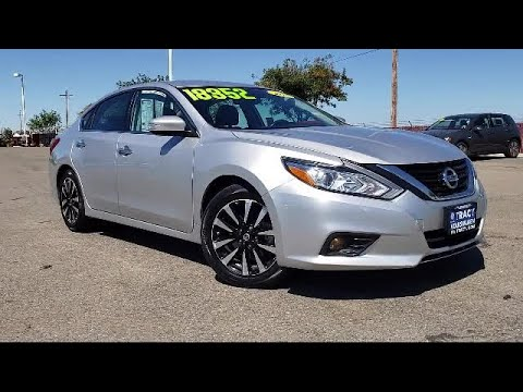 2018 Nissan ALTIMA Sedan 2.5 SL Tracy Stockton Modesto Manteca Antioch