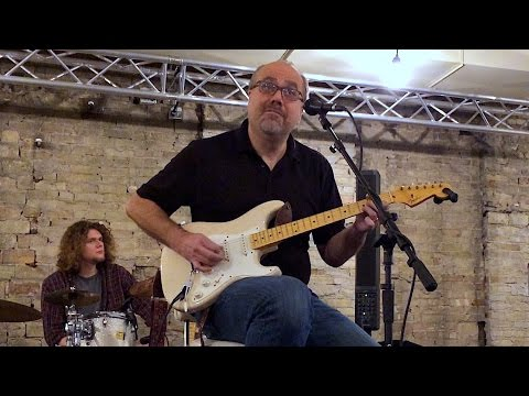 Greg Koch - Guitar Clinic with Fishman Fluence Pickup Demo - Janesville, WI December 2, 2015 LIVE
