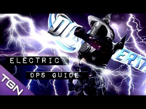 dcuo electrifying lightning dps guide youtube