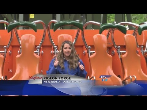 Dollywood's new Drop Line ride to open Saturday