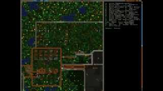 Let's Play Dwarf Fortress 030 (goblin Training, Some Benny Hill Stuff Going On)