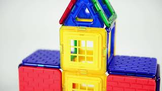 Magformers Wow House Set - How To Build (Video 2 of 5)