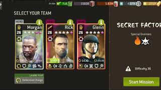 Challenge After the Wildfire at level 36.1 Melee Team Secret Factory