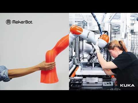 MakerBot 3D Printing and KUKA Robotics