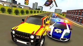 पुलिस चेस प्राडो एस्केप प्लान (टेक 3डी गेम्स स्टूडियो द्वारा) एंड्रॉइड गेमप्ले [एचडी] screenshot 1
