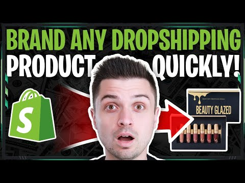 Easy Way To BRAND Your Dropshipping Products (SECRET Logo And Custom Packaging Hacks!!)