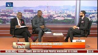 2019: Buhari, Atiku Campaign Spokespersons In Direct Criticism Of Flagbearers Pt.1 |Sunrise Daily| thumbnail