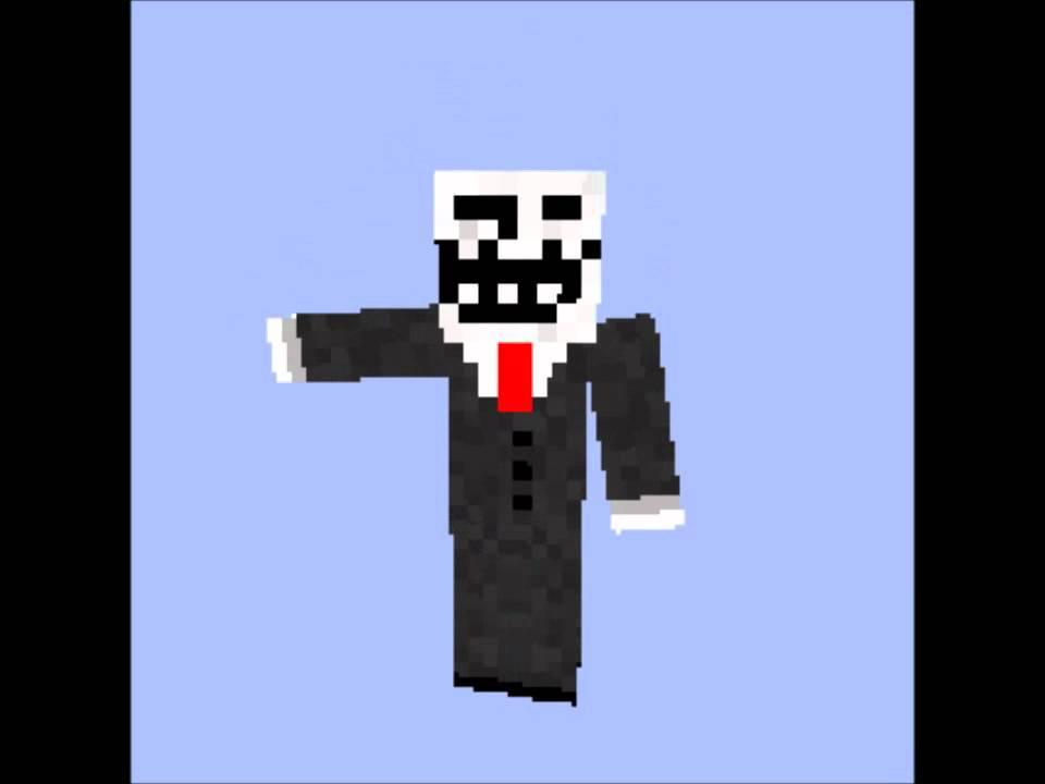 Minecraft Skin : Troll Face Meme (HD) (downloadable) - YouTube