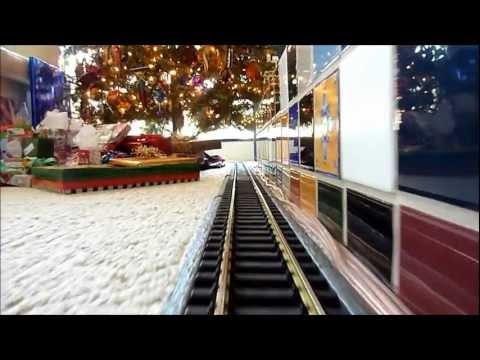Redmond Creek RR Christmas Train Reverse Loop 2011