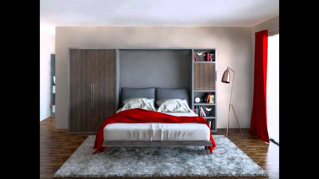 Start Składane łóżko Chowane łóżko W Szafie Holzmex
