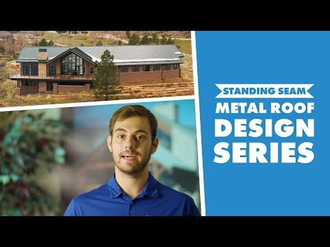NEW! Standing Seam Metal Roof Design Series