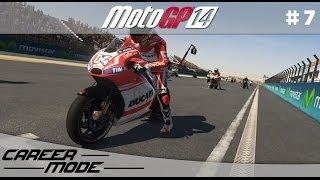 MotoGP 14 Gameplay Career Mode Walkthrough - Part 7 Moto 3 French Grand Prix