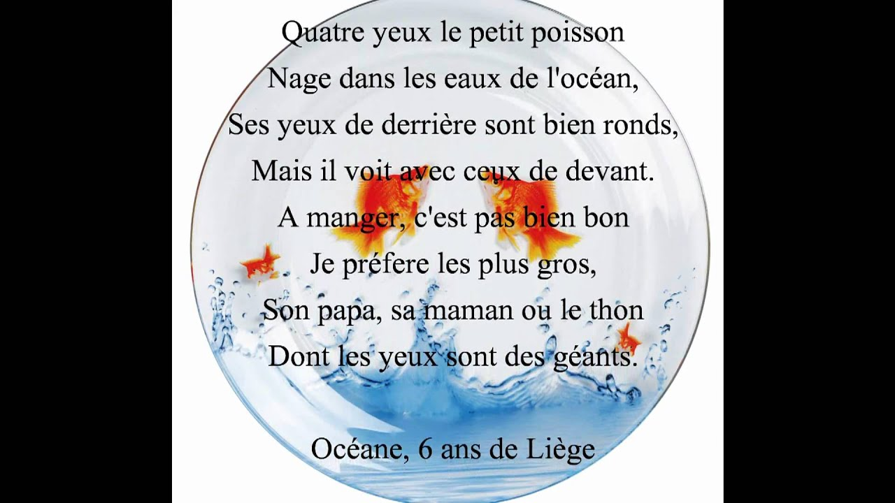Petit poisson rouge claude lachapelle youtube for Petit poisson rouge