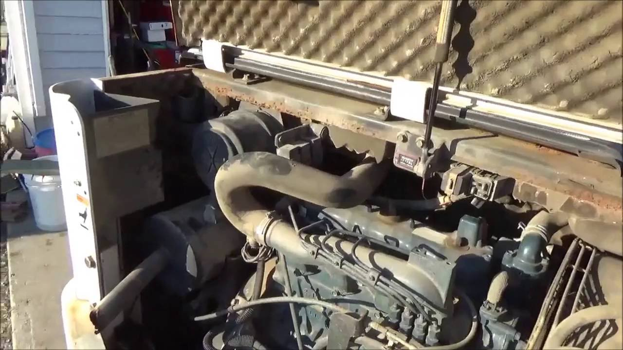 how to start bobcat after changing fuel filter [ 1280 x 720 Pixel ]