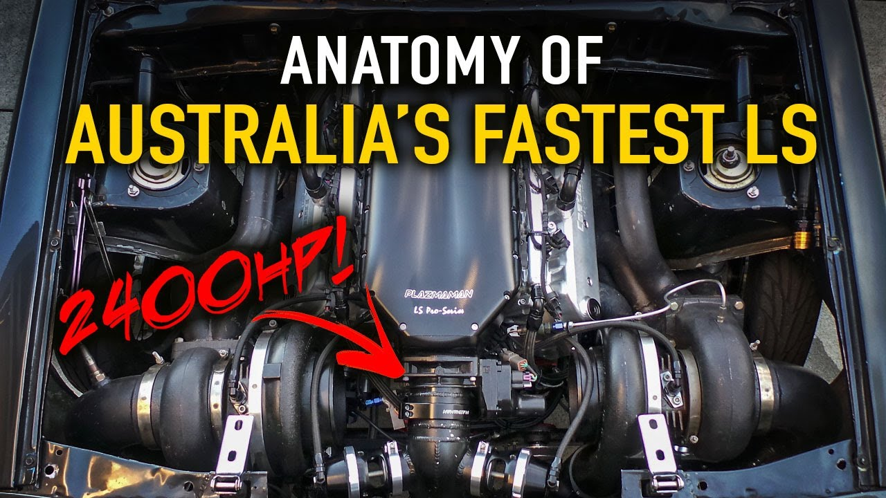 Anatomy of Australia\'s Quickest LS Car - YouTube