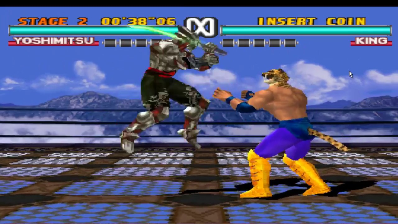 Tekken 3 super moves YOSHIMITSU VS KING