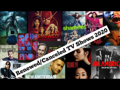 Canceled And Renewed TV Shows 2020