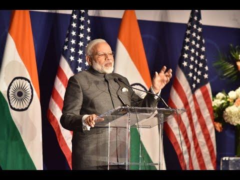 PM Narendra Modi at Indian Community Event in Washington DC, USA