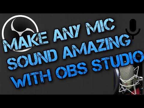 Repeat OBS Studio Tutorial - How to use Audio Meter, Studio