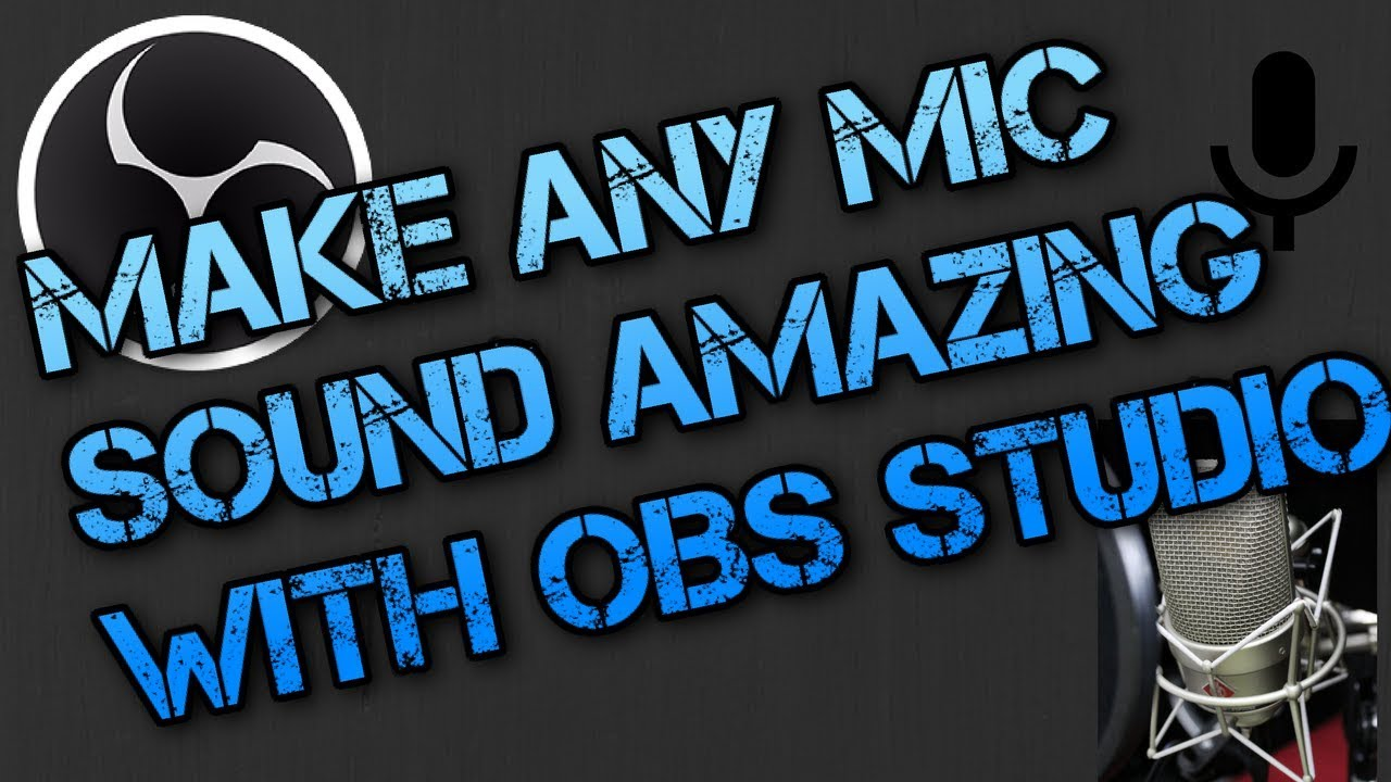 Make Any Mic Sound AMAZING! (WITH OBS) - Tech With Tim