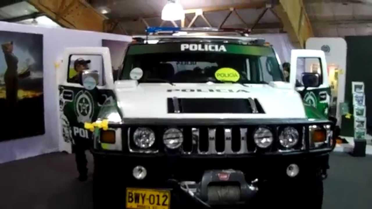 Un Veh 237 Culo Hummer De La Polic 237 A Nacional De Colombia Youtube