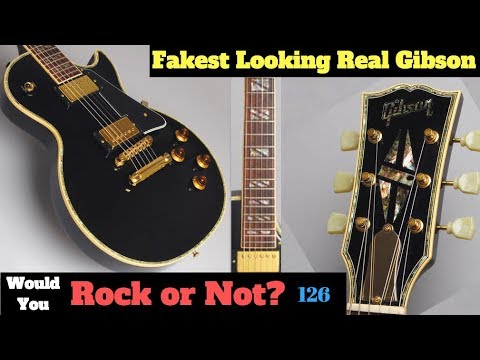 The Fakest Looking Real Gibson | 1999 Les Paul Custom Standard Special Order | WYRON 126