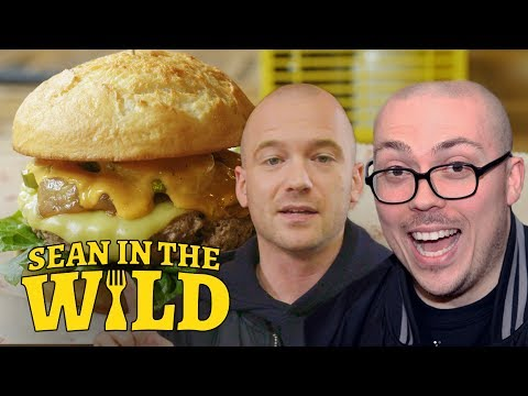 Thumbnail: Anthony Fantano and Sean Evans Review the Impossible Burger | Sean in the Wild