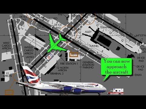 [REAL ATC] British Airways A380 into Minneapolis | Medical Emergency