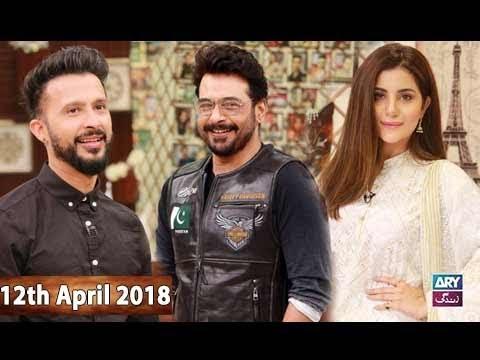 Salam Zindagi With Faysal Qureshi - 12th April 2018 - ARY Zindagi