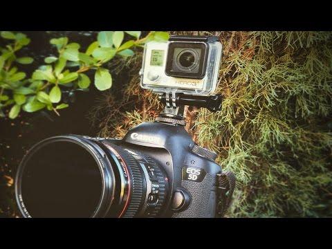 Filmmaker POV   GoPro Mounted on DSLR