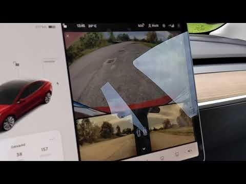 Tesla Model 3 Touchdisplay - kurzes Hands-on