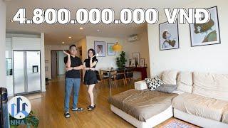 """Trải Nghiệm Căn Hộ """"AIRBNB"""" Trị Giá 4,8 TỶ rộng 120m2 tại Mipec Riverside Long Biên - NhaF [4K]"""