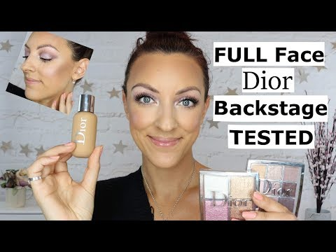 NEW Dior Backstage collection review | NEW Dior face and body foundation review