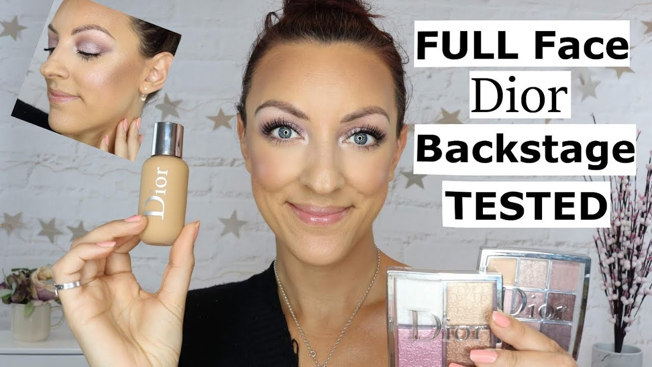 New Dior Backstage Collection Review New Dior Face And