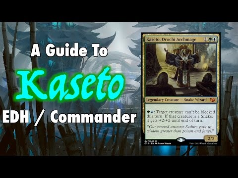 MTG - A Guide To Kaseto EDH / Commander for Magic: The Gathering