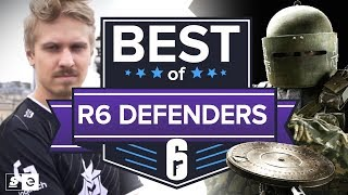 Best of Rainbow Six Siege Defender Plays
