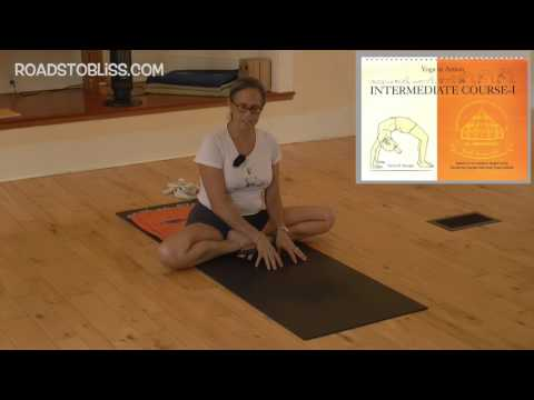 Toward Padmasana with Rebecca Lerner , Senior Intermediate Iyengar Yoga Teacher