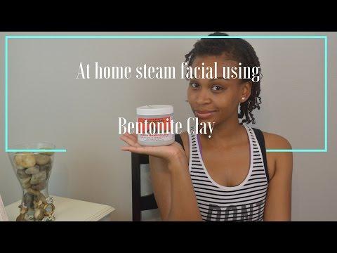 DIY: At home steam facial using Aztec Indian Healing Clay (Bentonite Clay)