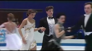 "[HD] Compulsory Dance ""Golden Waltz""  Group 4 Warming Up - 1998 Nagano Olympics"