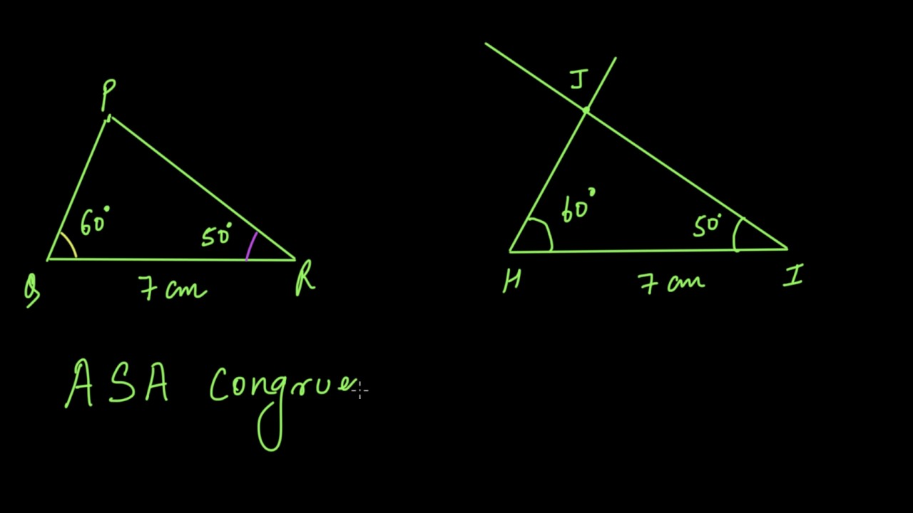 small resolution of Triangle congruence criteria (Hindi)   Congruence of triangles   Class 7  (India)   Khan Academy - YouTube