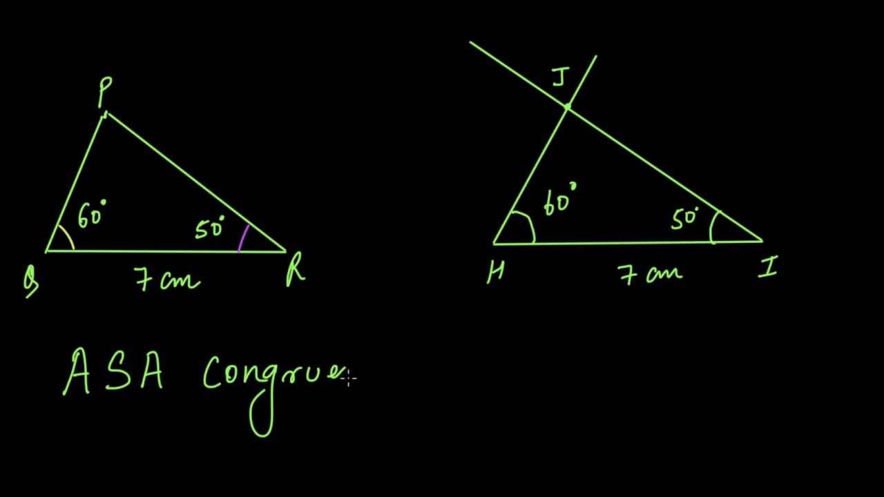 hight resolution of Triangle congruence criteria (Hindi)   Congruence of triangles   Class 7  (India)   Khan Academy - YouTube
