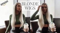 Platinum Blonde AMAZON WIGS // Review